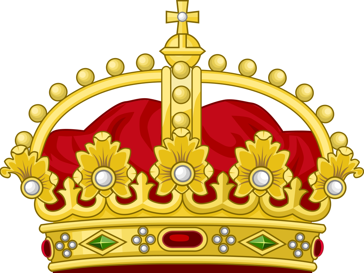 Crown clip male. King wikipedia