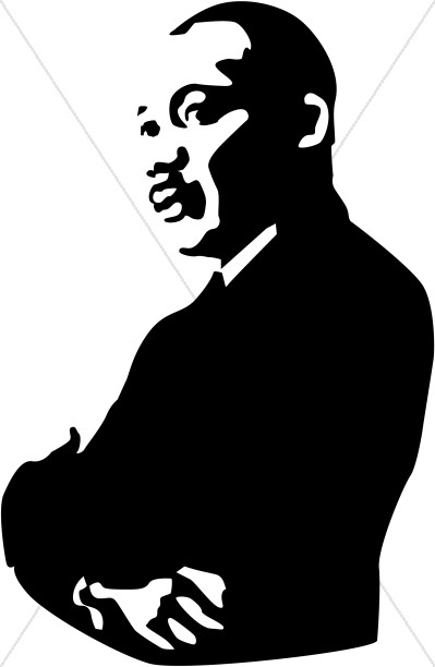 King jr arms folded. Martin luther clipart vector transparent stock