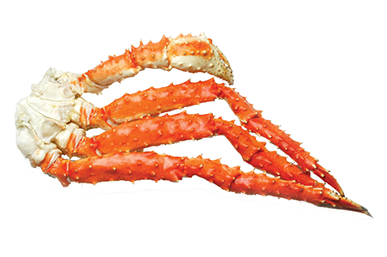 King crab legs png. Red lb box golden