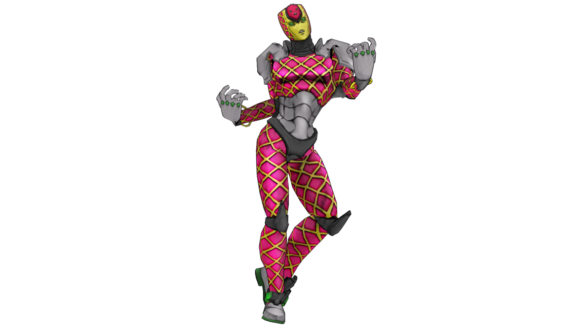 King crimson jojo png. Model dl updated by