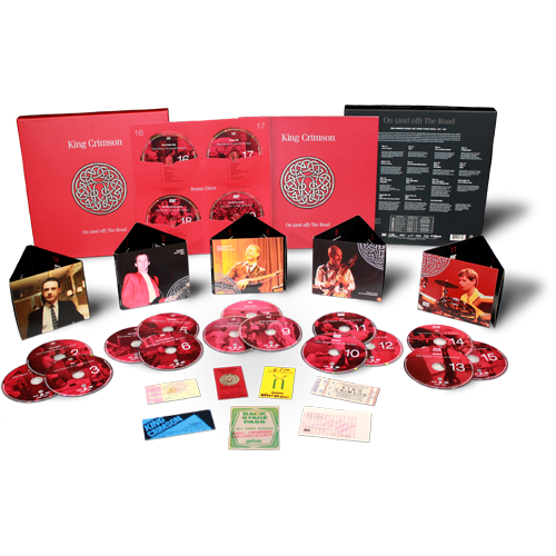 King crimson png. Dgm live on and