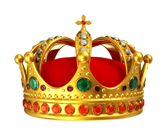 King crown png. Red
