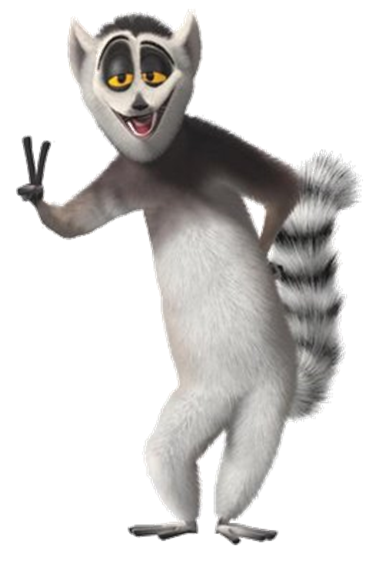 King julian png. Image julien without his