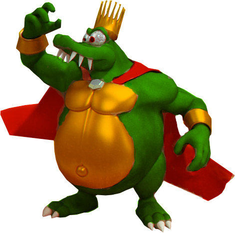 King k rool png. Image recolor by edgeorgencody