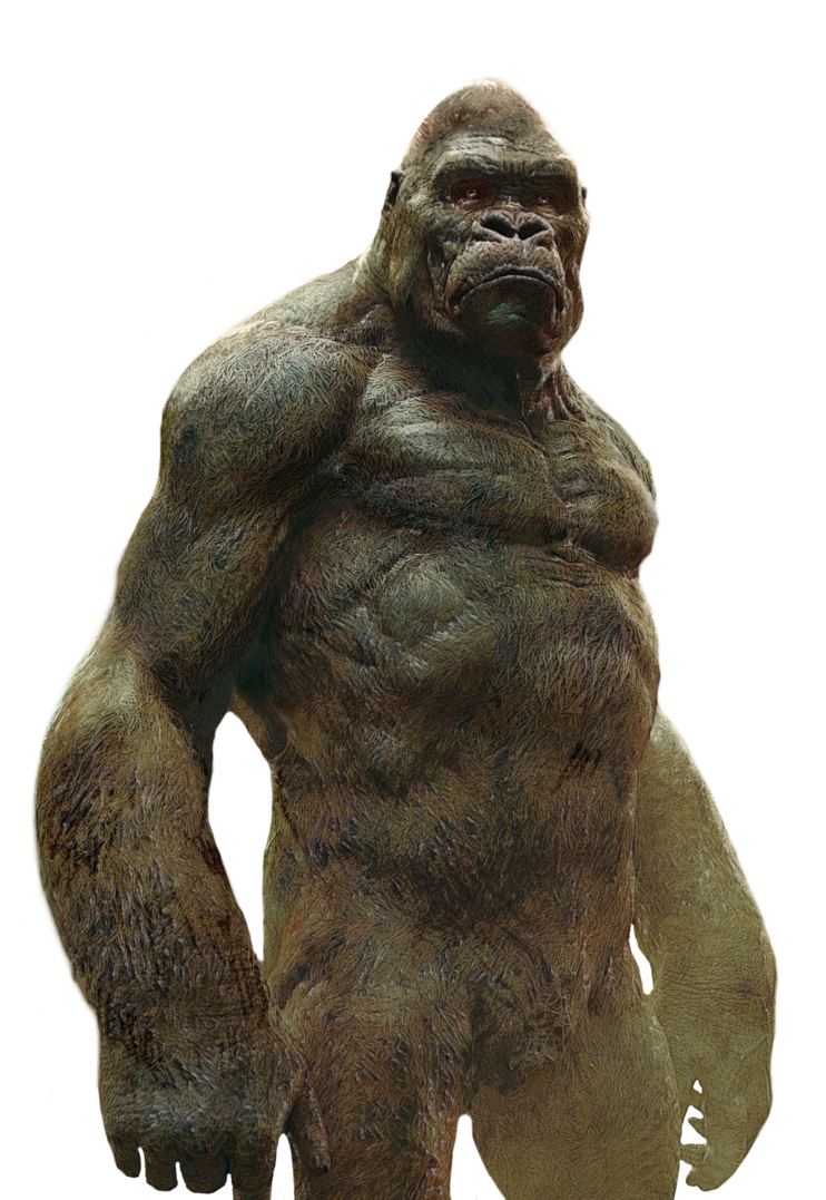 King kong png. Image transparent by asthonx