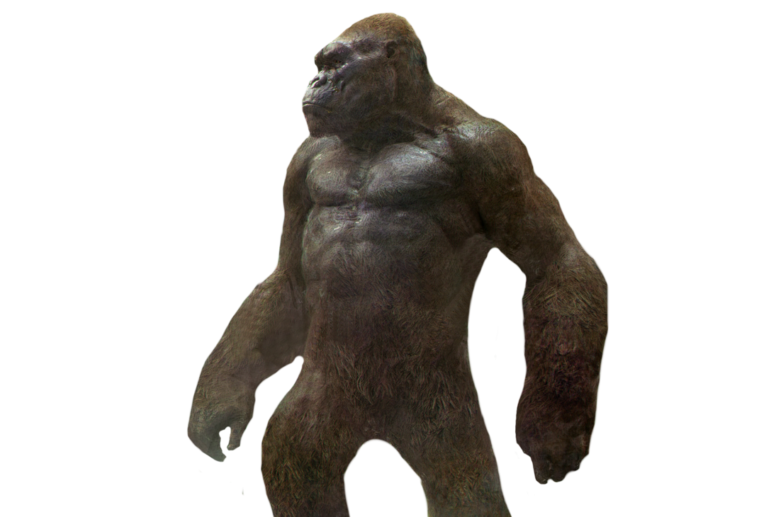 King kong png. Transparent by asthonx on