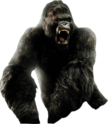 King kong png. By shutupdemi on deviantart