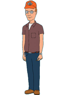 Graduate drawing man. Dale gribble wikipedia king