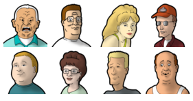 King of the hill logo png. Icons collection pack free