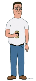 King of the hill png. Hank wikipedia