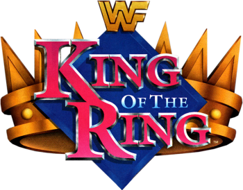 King of the ring png. Image classic logo wrestlepedia