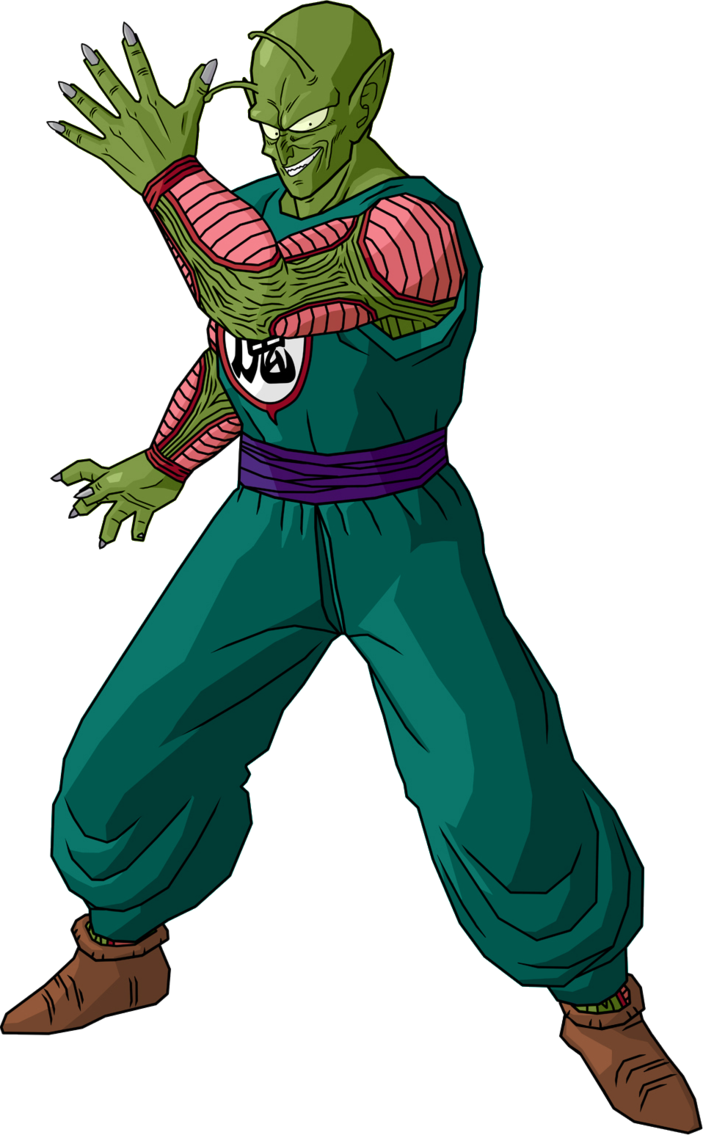 King piccolo png. Image sagas style by