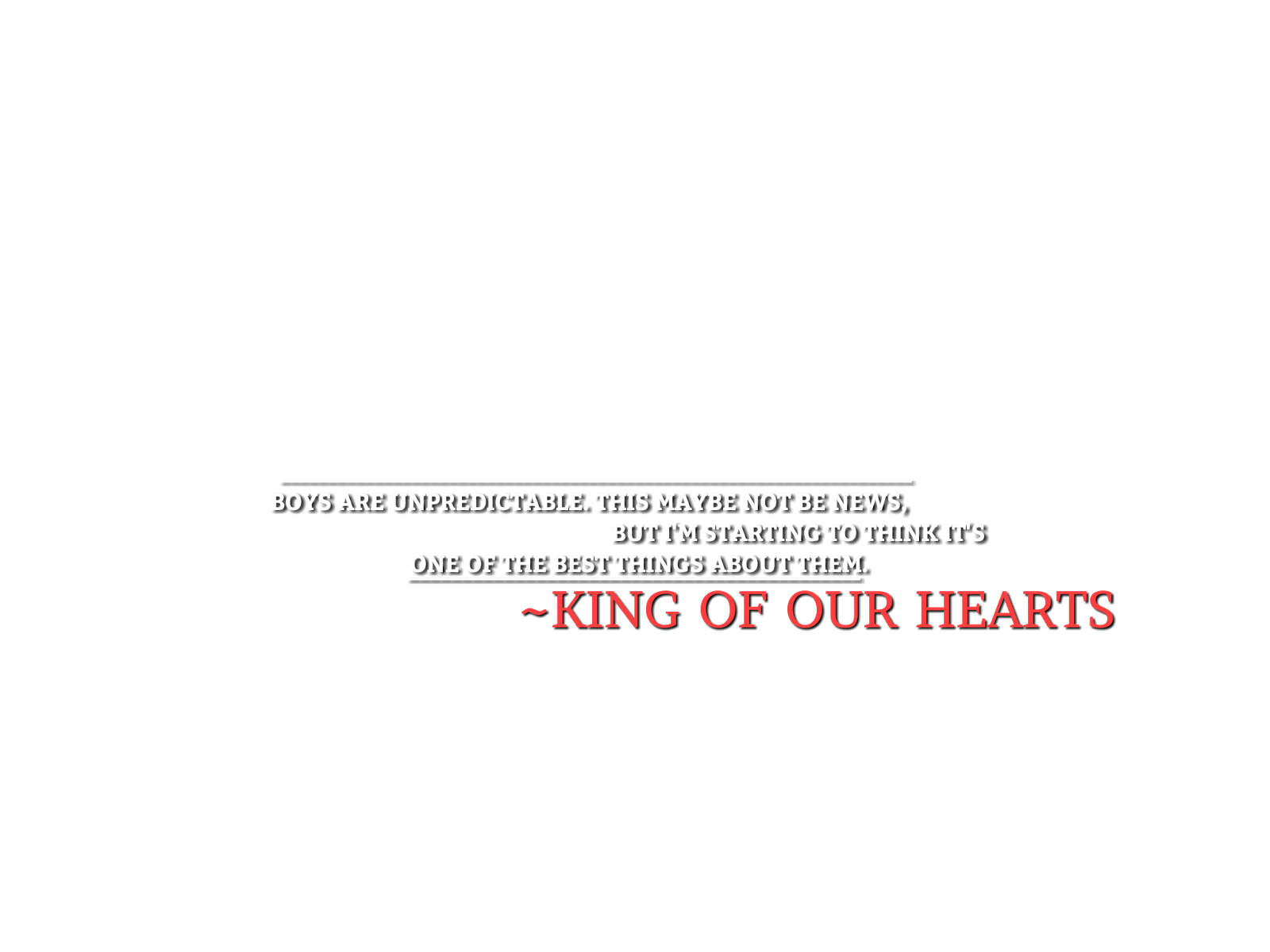 King png text. Part