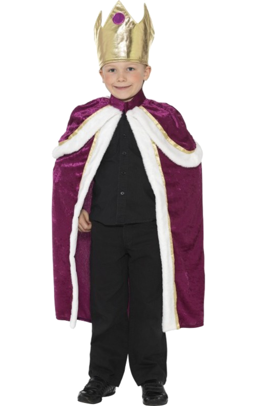 King robe png. Child kiddy costume simply