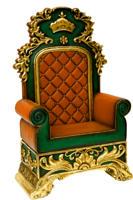 King throne png. Chairs psd images