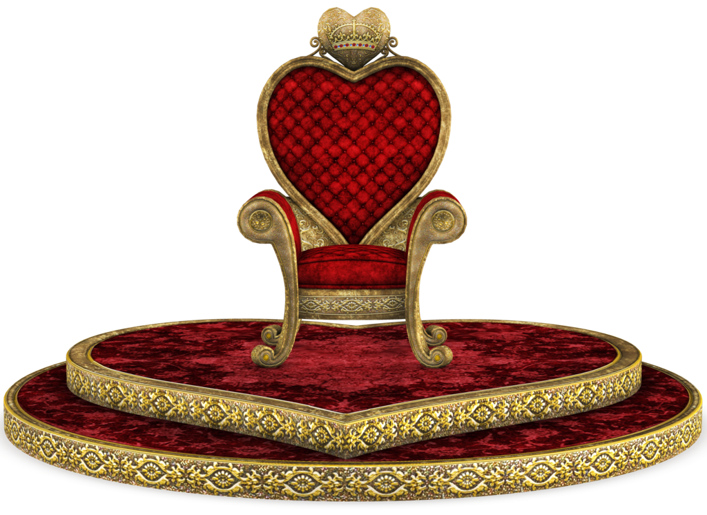 King throne png. Unrestricted queen of hearts