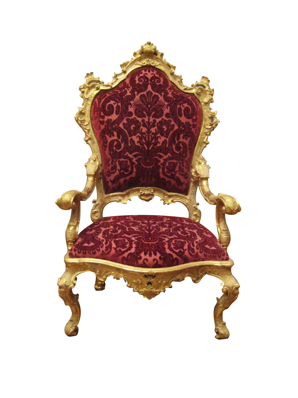 King throne png. Chair transparent images all