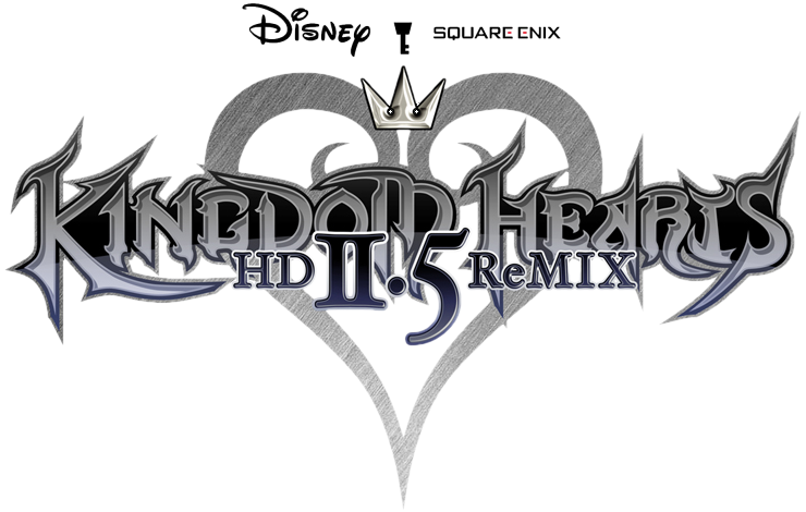 Kingdom hearts 2 logo png