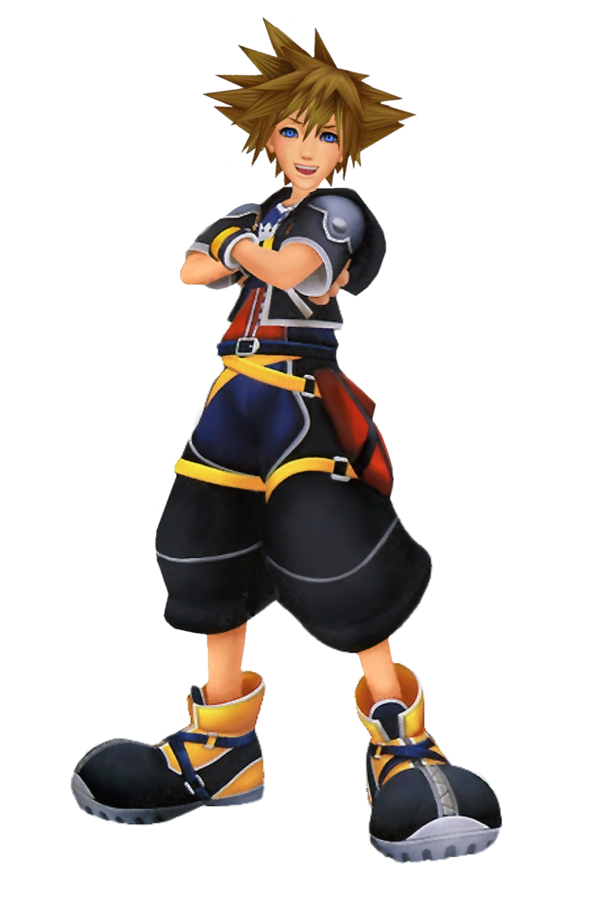 Sora kh2 png. Spin what was your