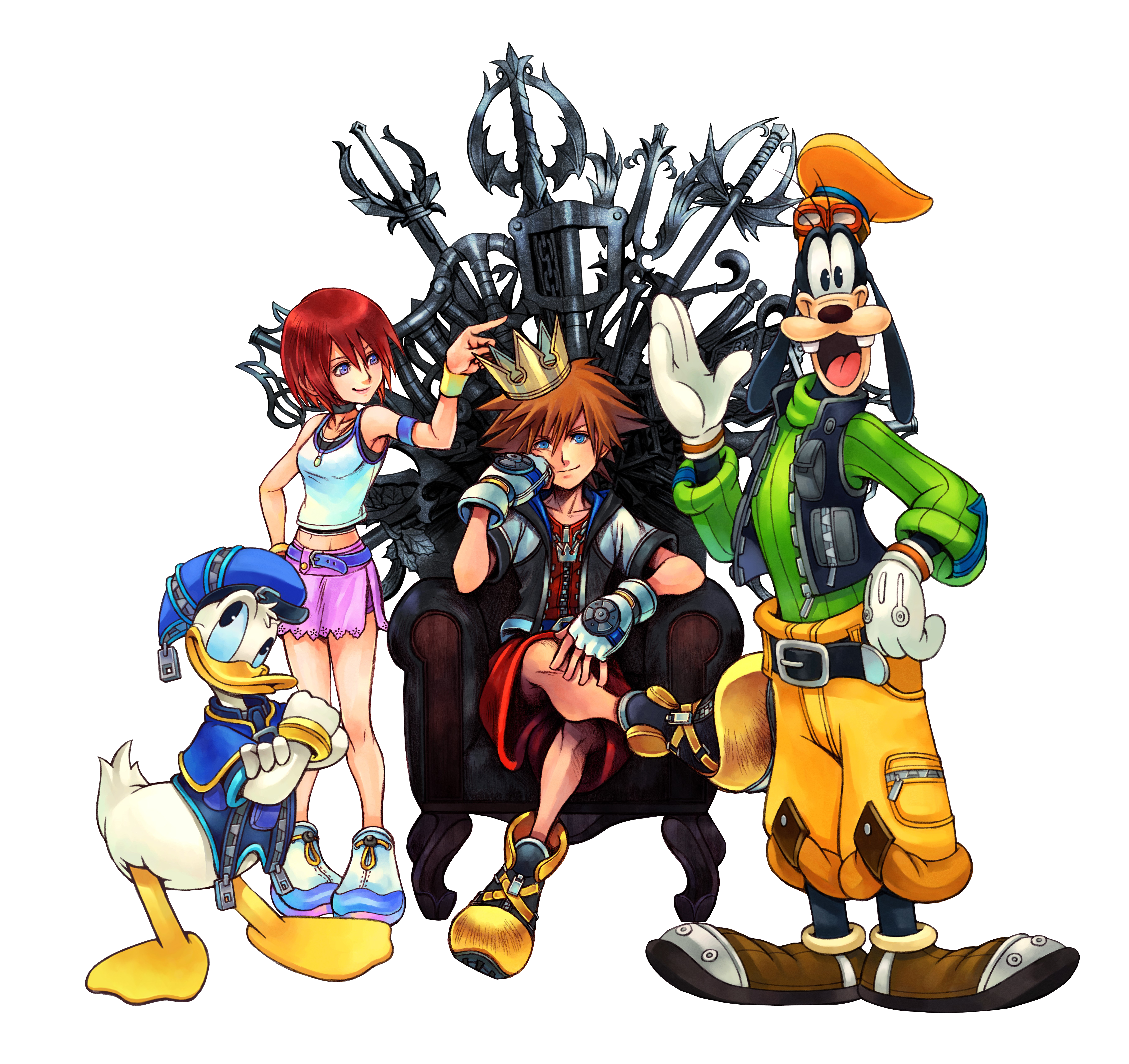 Kingdom Hearts Chain Of Memories Transparent Png Clipart Free