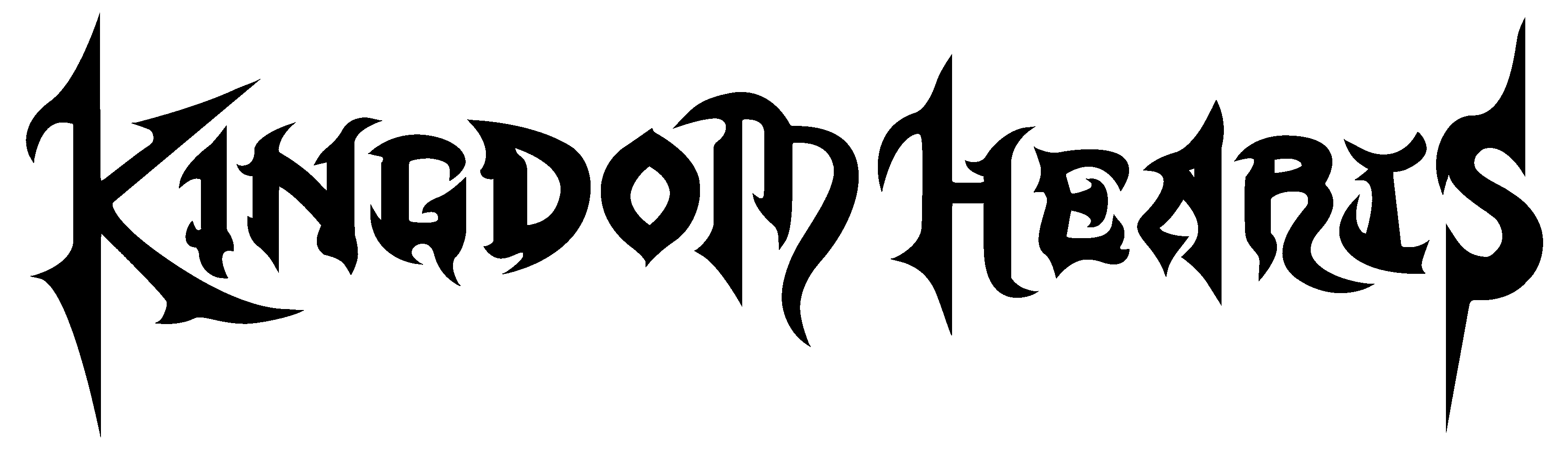 Kingdom hearts text png. File wordmark the fourth
