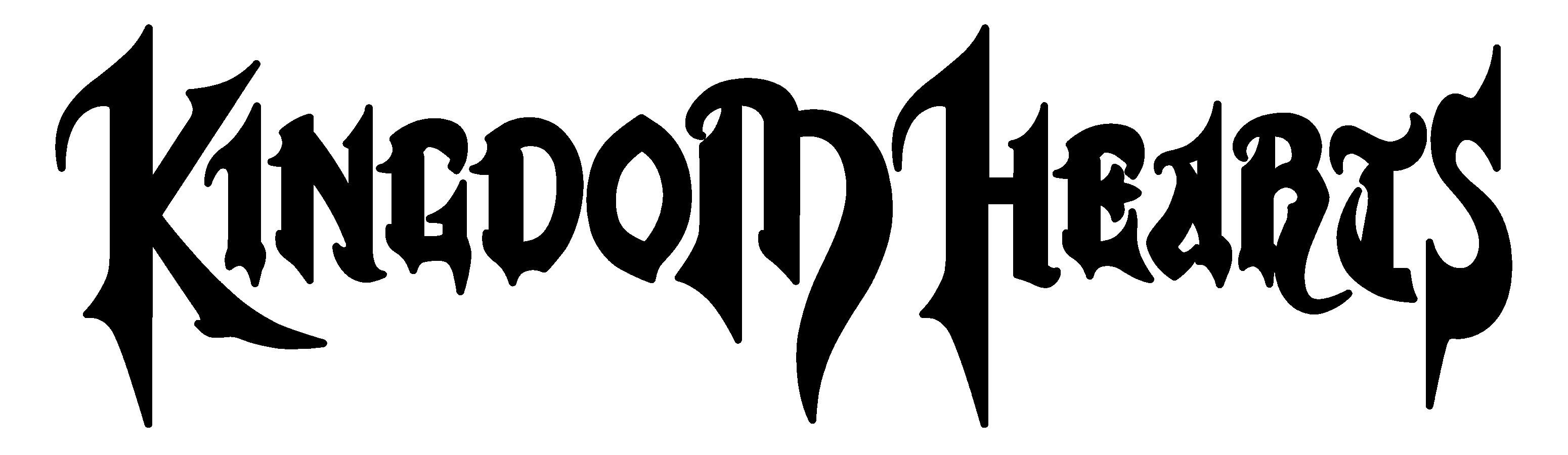 Kingdom hearts text png. File wordmark the first