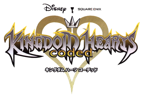 Kingdom hearts text png. Image coded logo khc