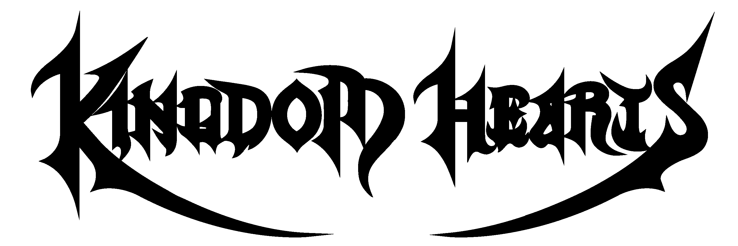 Kingdom hearts text png. File wordmark the third