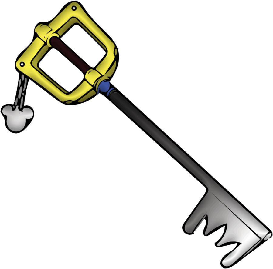 Kingdom key png. The by diffy on