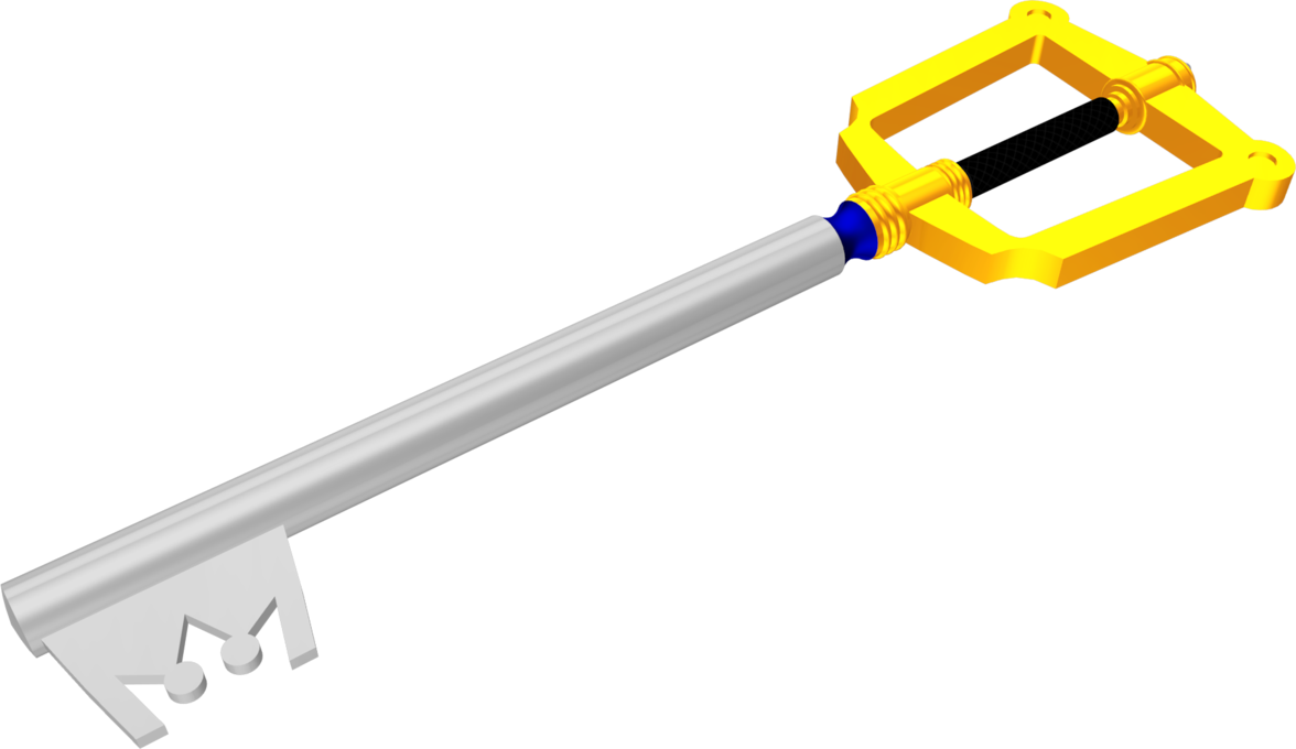 Kingdom key png. Keyblade by ddrmaxman on