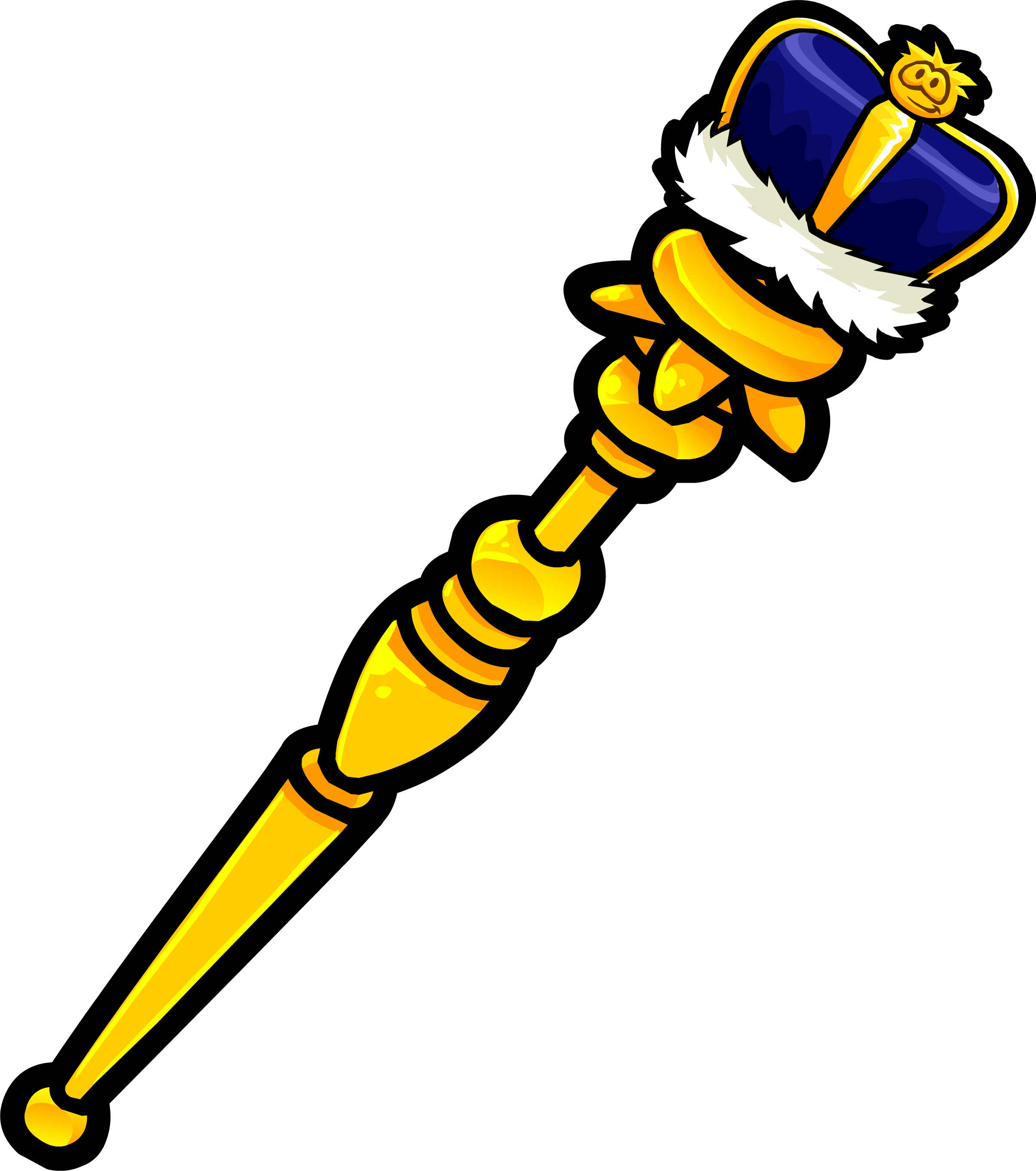royal staff png