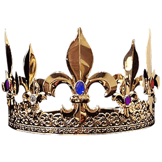 Kings crown png. From medieval collectables
