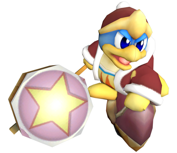 Kirby air ride png. Gamecube king dedede the