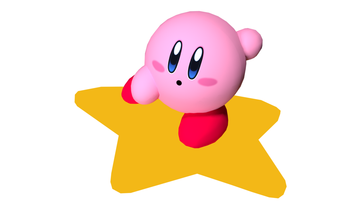 Kirby air ride png. By thegoldenmcl on deviantart