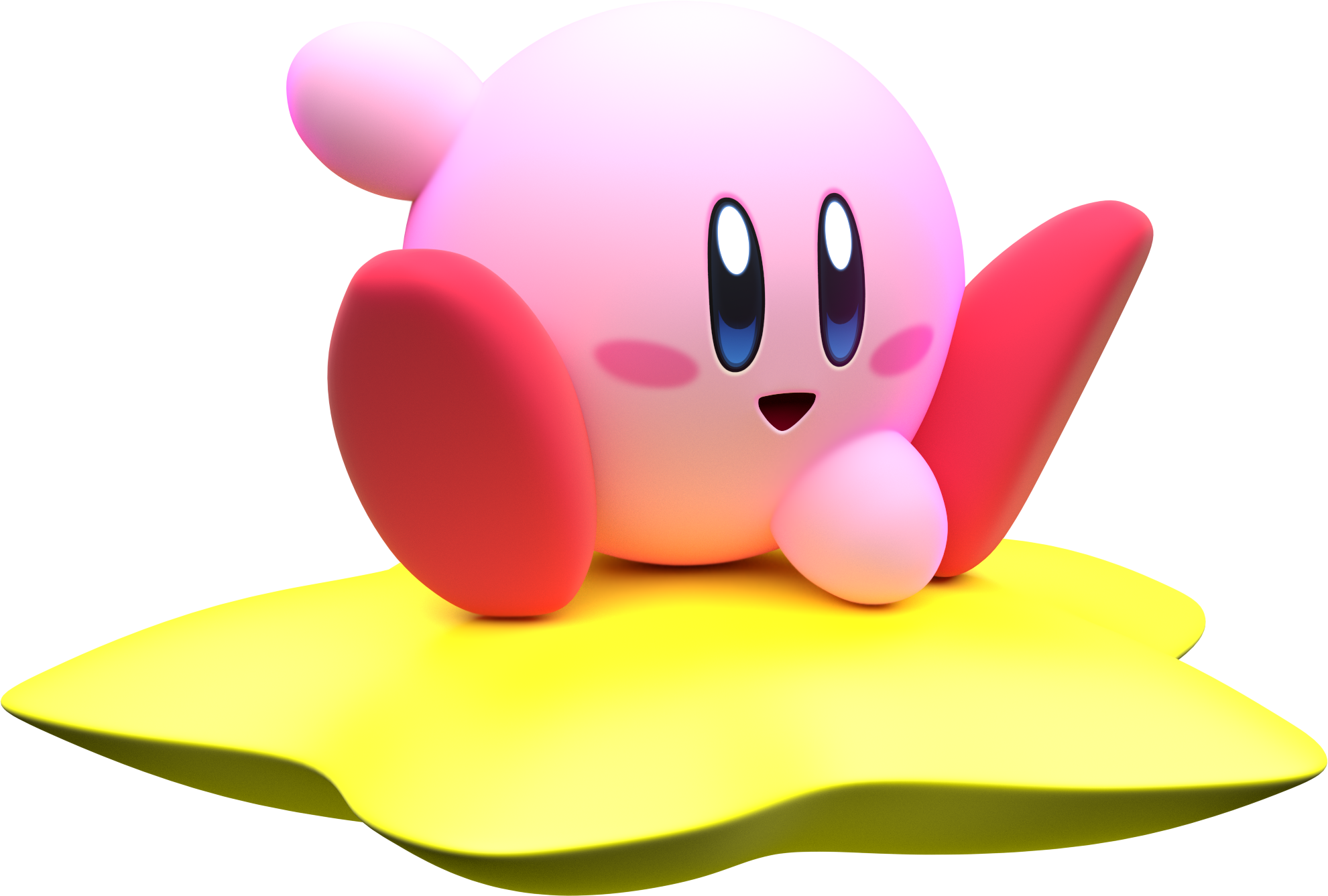Kirby air ride png. Model by mintenndo deviantart