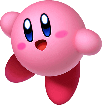 Star allies for the. Kirby vector image black and white library