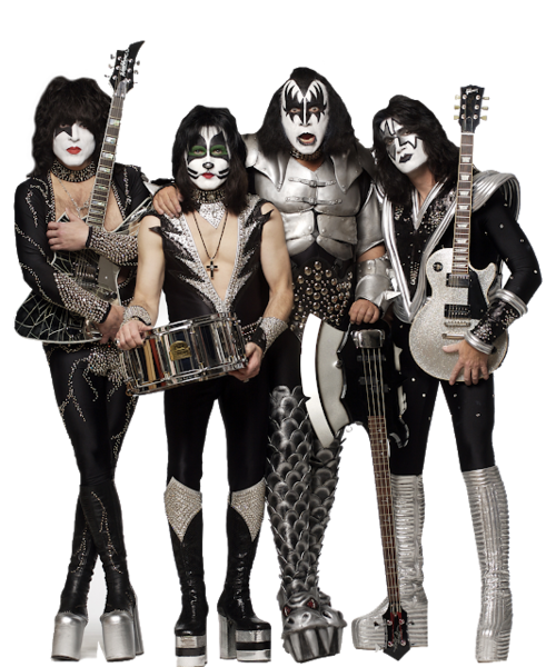 Kiss band png. Official psds share this