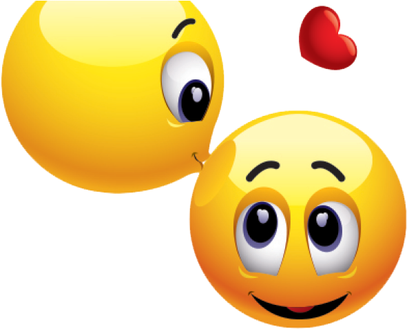 Kiss clipart emoticon. Download hd smiley transparent