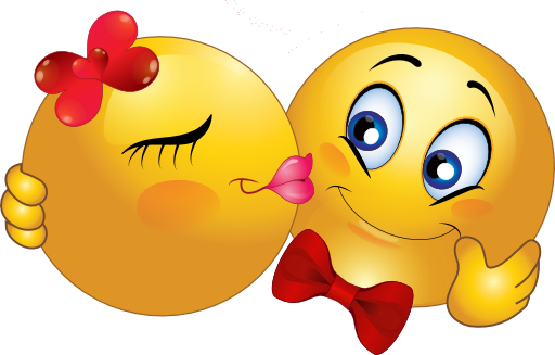 Kiss clipart sweet. Smileys emoticon smiley kisses