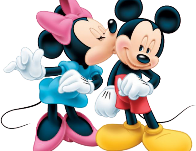 Mickey and minnie kissing png. Download hd kiss clipart