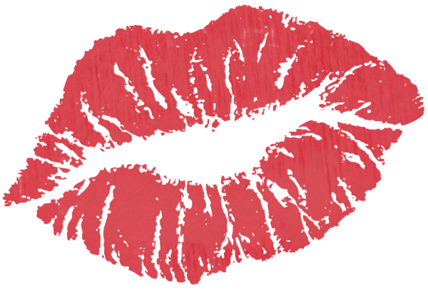 kiss clipart transparent background