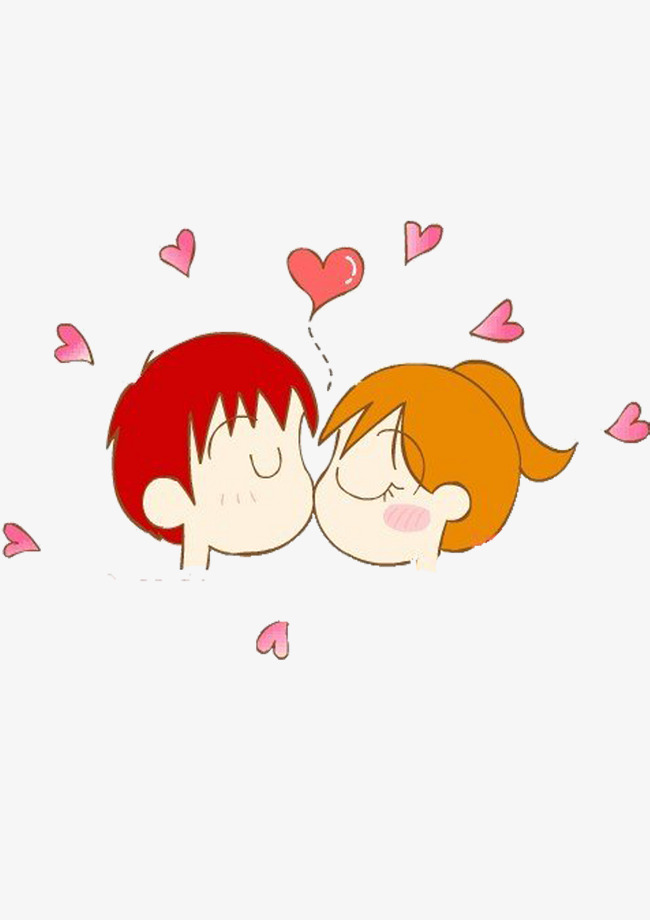 Kiss clipart sweet. Cartoon love png image