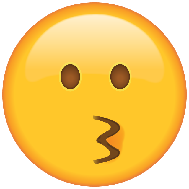 Kiss emoji png. Download kissing face icon