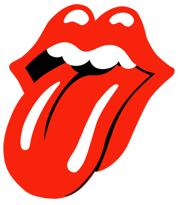 Index of ethelstanford lips. Rolling stones tongue png graphic black and white