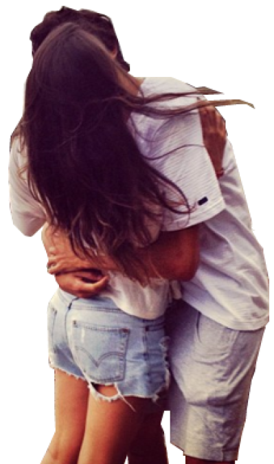 Kissing couple png. Transparent couplepng images dlpng