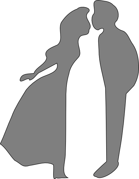 Kissing couple png. Shadow clip art at