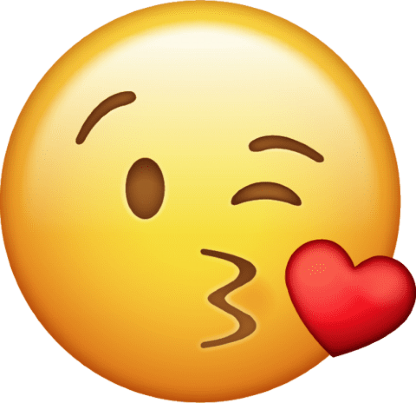 Emoji kiss png. Download icon clipart photo
