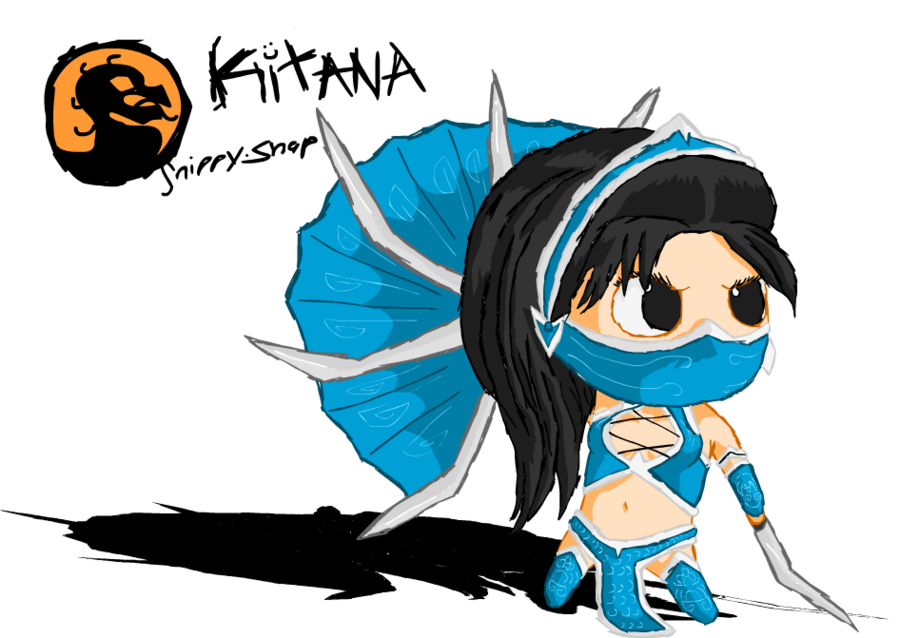 Kitana drawing. Little by snippy snap