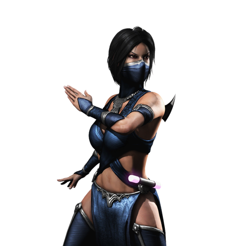 Kitana drawing concept art