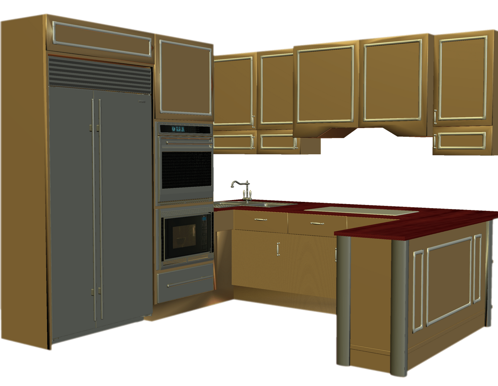 Kitchen clip cabinet. Counter clipart cabinets animation